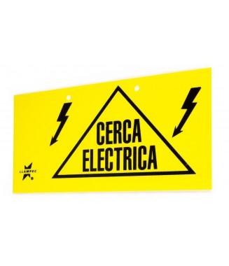 SEÑAL CERCA ELECTRICA