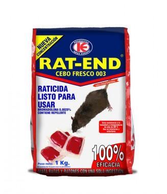 RATICIDA RAT-END 1 KG